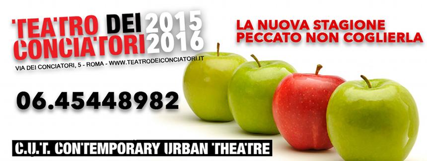 Roma - Teatro dei Conciatori 2015 2016_spettacoli stagione