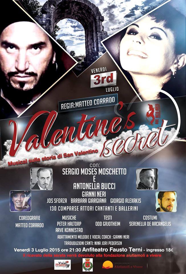 Musical Valentine's Secret_locandina