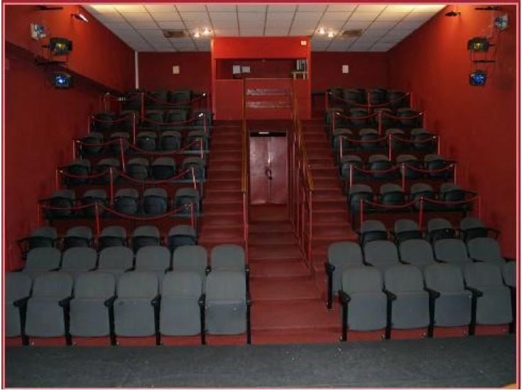 teatro agora' roma_sala