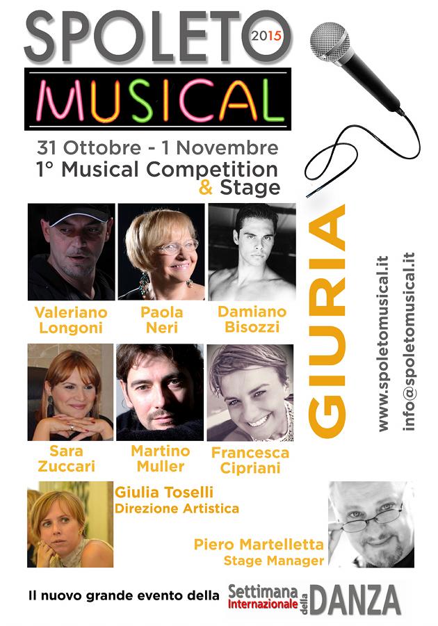 Concorso e Stage Spoleto Musical 2015_Locandina con giuria