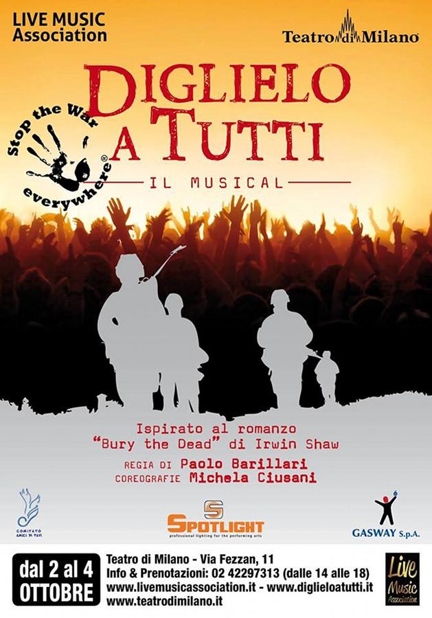 Diglielo a Tutti il musical_Regia Paolo Barillari