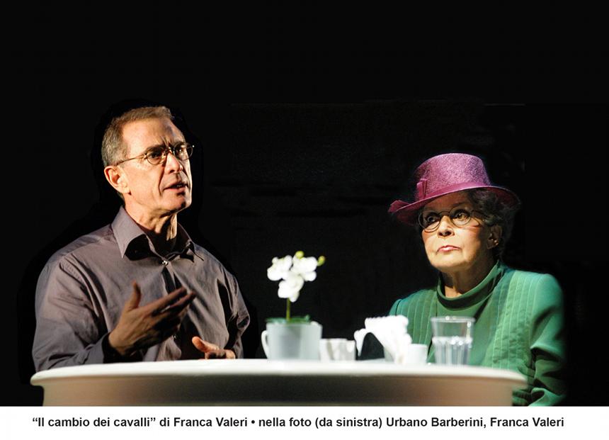 Franca Valeri e Urbano Barberini_il cambio dei cavalli