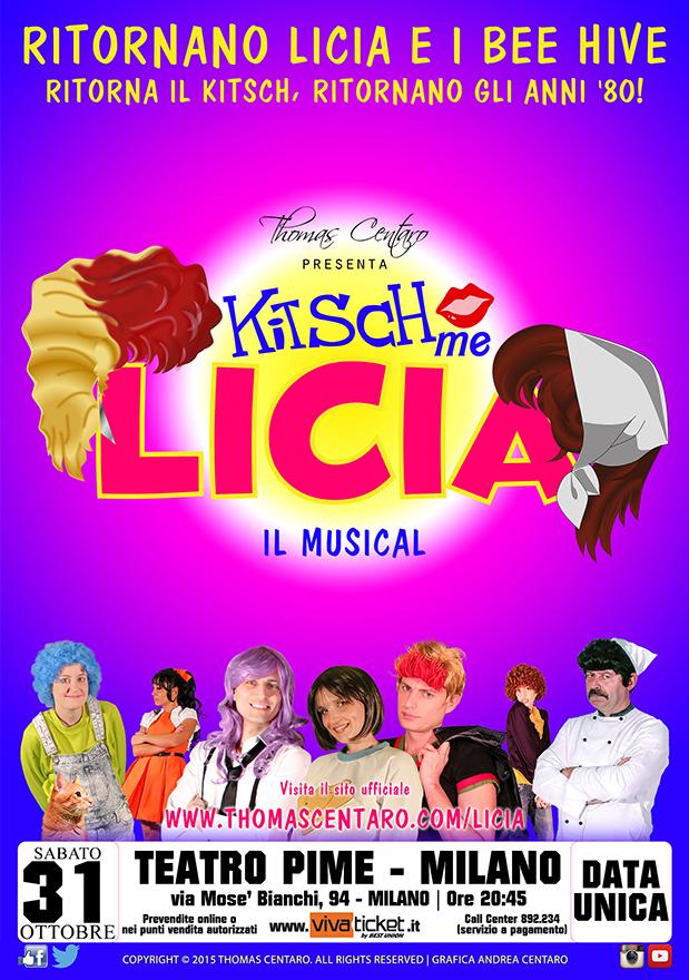 Locandina Kitsch Me Licia