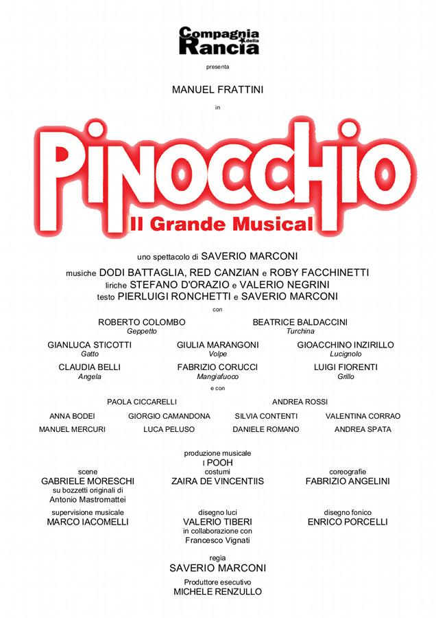 PINOCCHIO  Il Grande Musical_locandina (2)