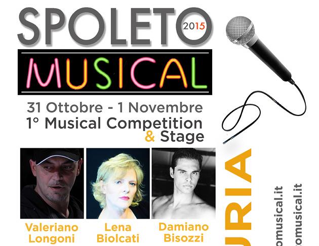 Concorso di Musical Citta' di Spoleto_ new Locandina tag