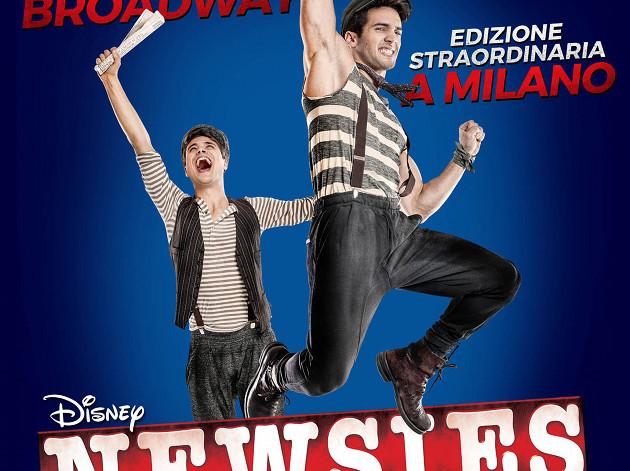 NEWSIES locandina_milano barclays teatro nazionale_tag