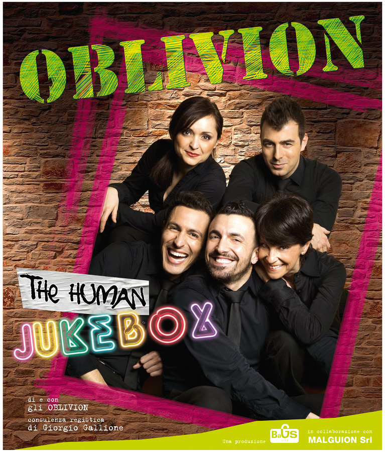 OBLIVION_The Human JukeBox_Poster