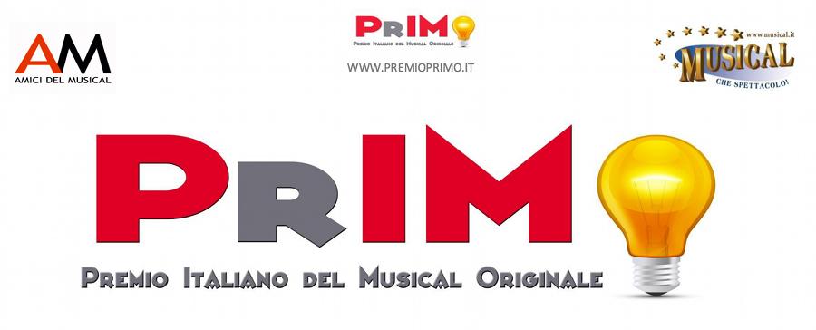 Premio PrIMO 2017 - 2016 PrIMO Premio Italiano Musical Originale 2016_logo