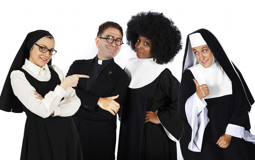 SISTER ACT_Protagonisti