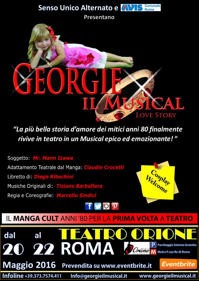 Georgie il musical diventa realta in scena a roma nel