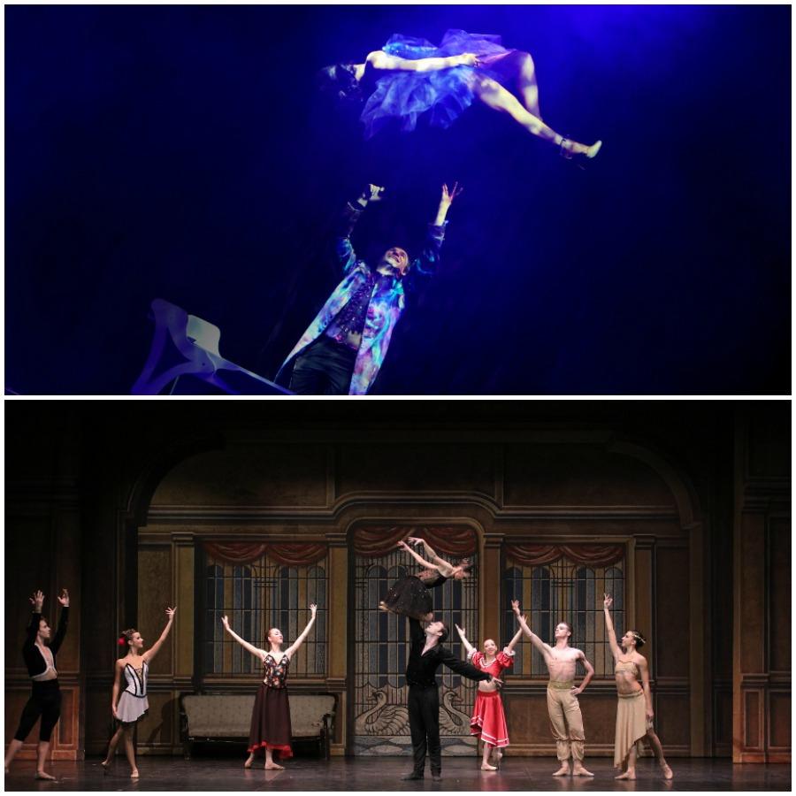 Teatro della Luna_San Silvestro 2015_Magic of Erix Logan e Sara Maya_Capodanno 2016_Il Lago dei Cigni_Compagnia Nazionale Raffaele Paganini