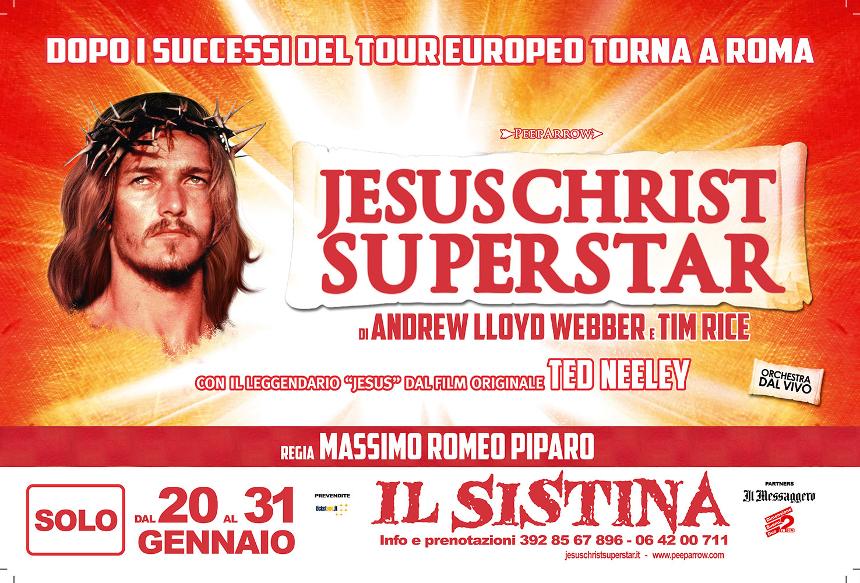 Jesus Christ Superstar al Teatro Sistina di Roma