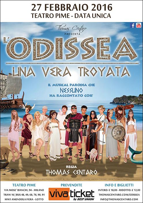 L'Odissea - Una vera Troyata locandina
