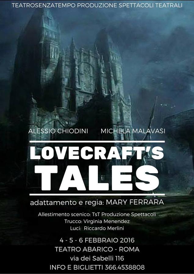 Locandina Lovecraft 's Tales_Alessio Chiodini_Regia Mary Ferrara