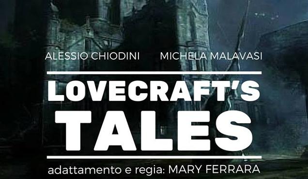 Locandina Lovecraft 's Tales_Alessio Chiodini_Regia Mary Ferrara tag