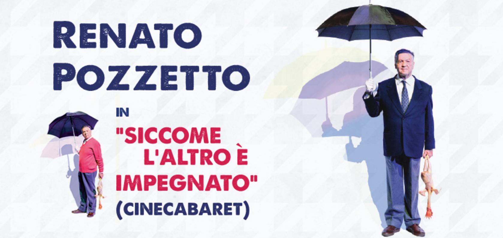 Siccome l'altro e' impegnato _ Renato Pozzetto Teatro Nazionale Milano
