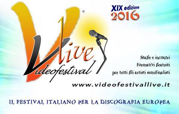 VideoFestival Live 2016_Locandina tag