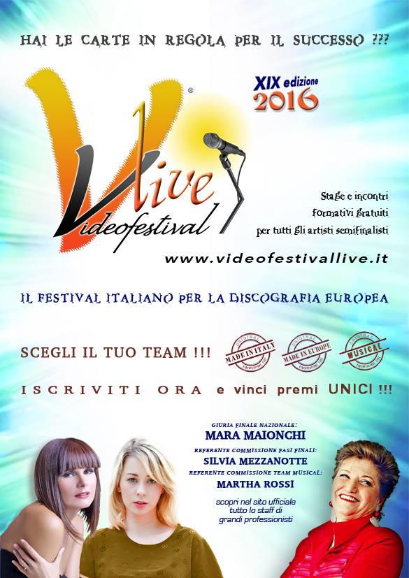 VideoFestival Live 2016 _locandina