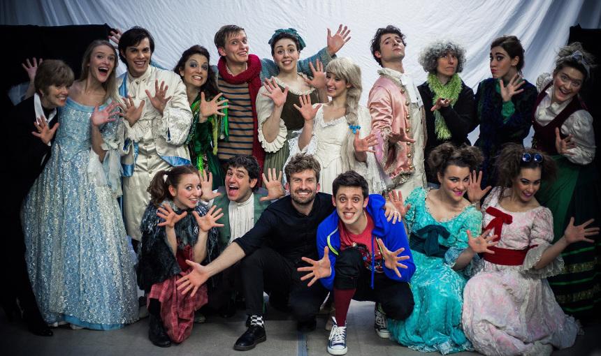 Musical scuole Bologna con BSMT e Teatro Comunale - Into the Woods_Cast