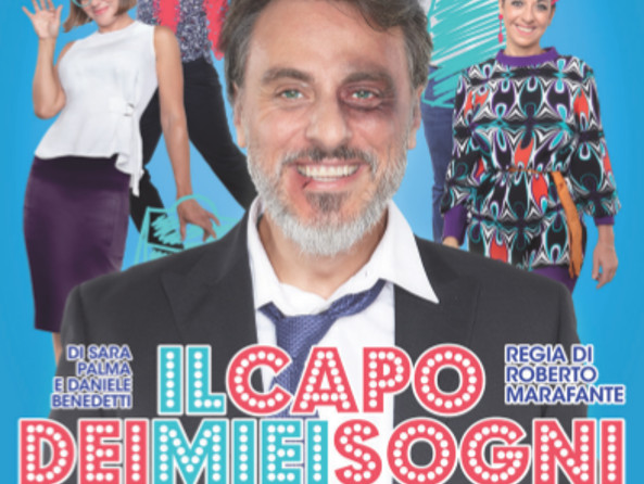 Teatro Martinitt la brillante commedia Il capo dei miei sogni tag