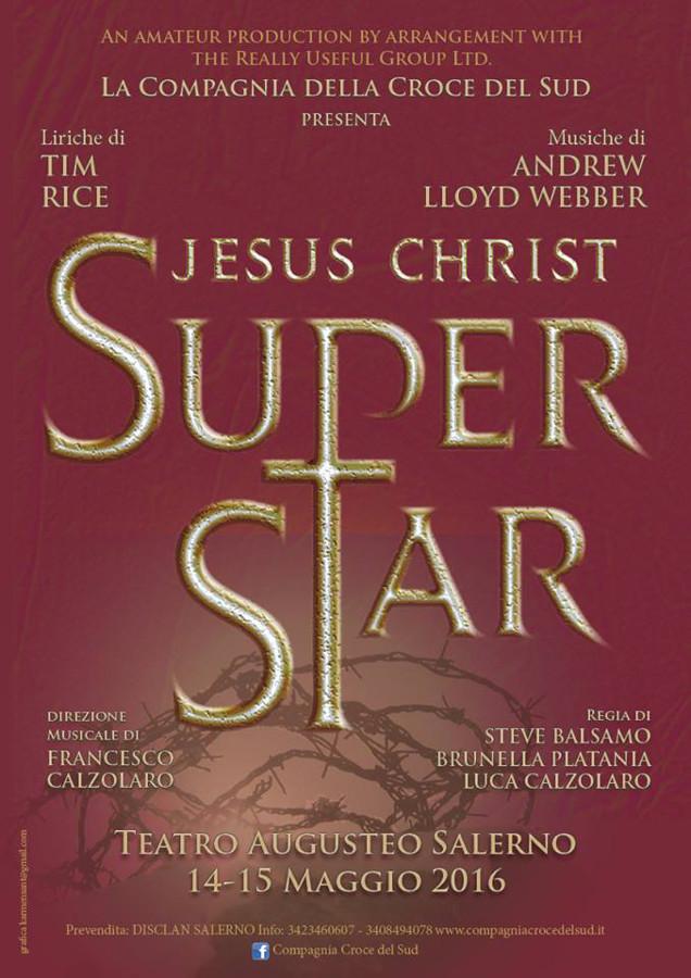 Compagnia della Croce del Sud - Jesus Christ Superstar - locandina