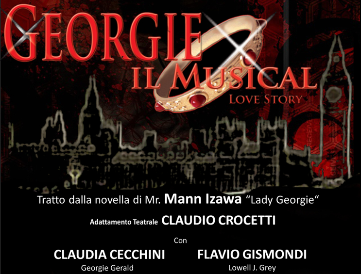 Georgie il Musical locandina tag