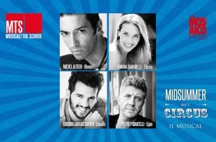 Midsummer Night 's Circus musical - cast