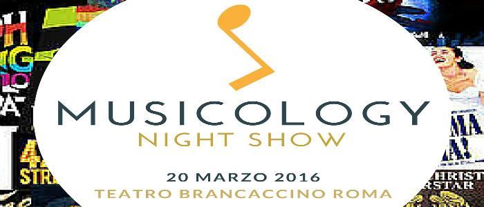 Musicology Night Show _ viaggio tra parole e musica - TeatroSenzaTempo