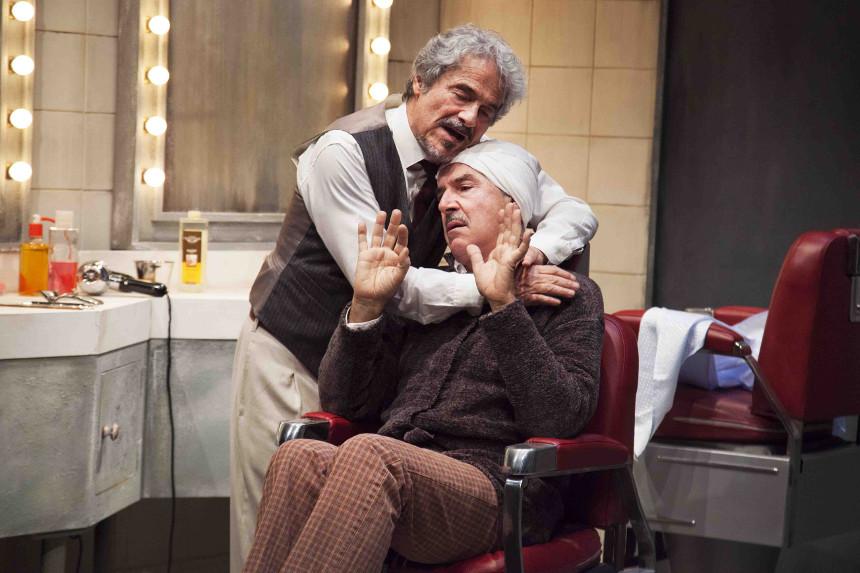 Quei due - Massimo Dapporto e Tullio Soleggi - Teatro Manzoni di Milano