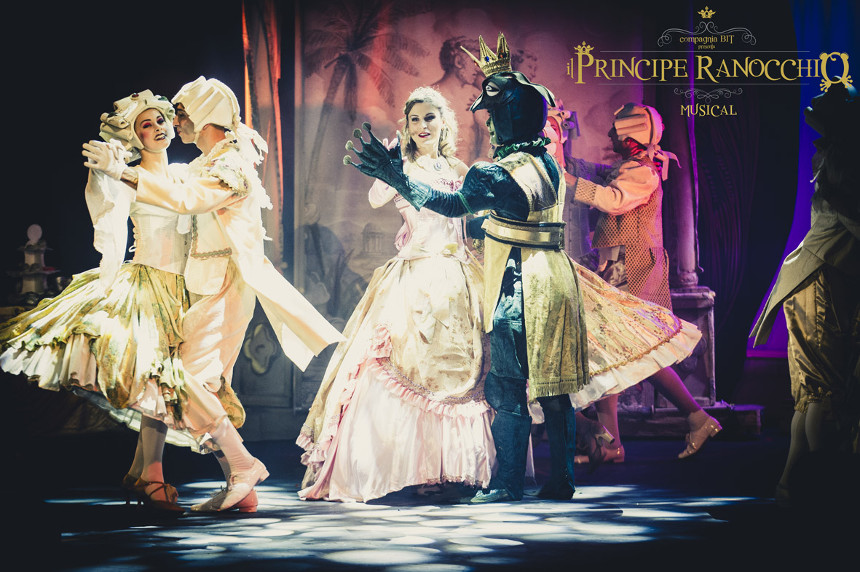 principe-ranocchio-musical-ballo
