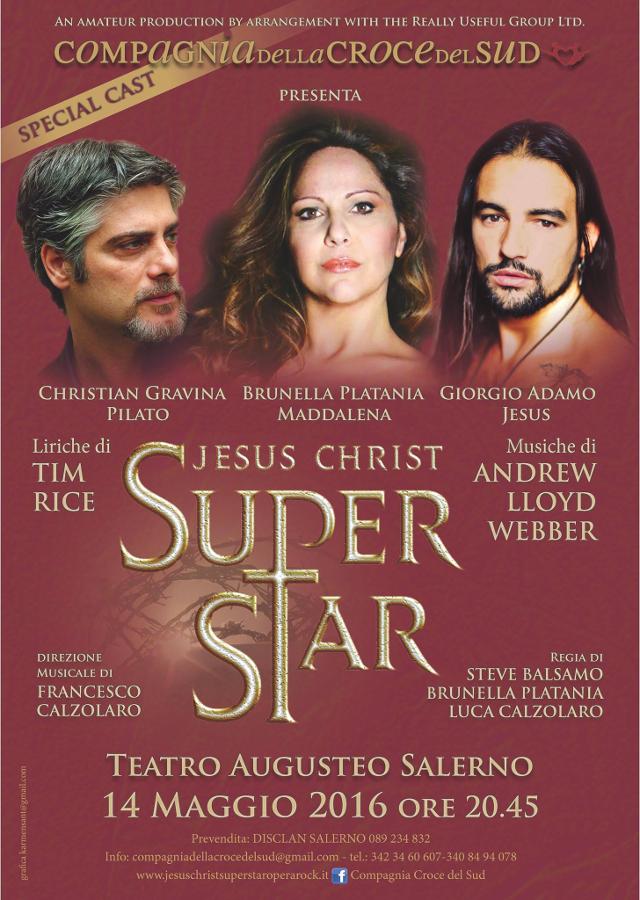 La Compagnia della Croce del Sud - Jesus Christ Superstar - locandina