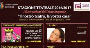 Cartellone Stagione Teatro Imperiale Guidonia 2016 2017 tag