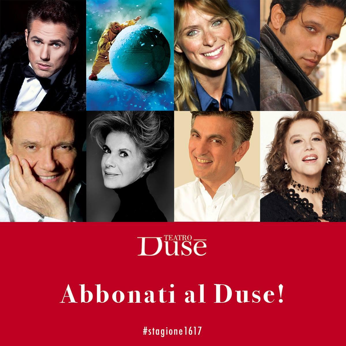 Bologna - Teatro Duse 2016 2017 - stagione di Prosa