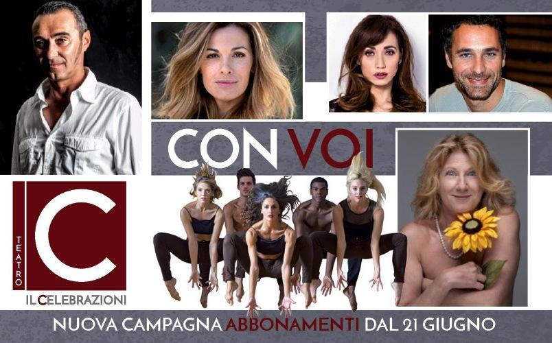 La stagione di Prosa 2016 - 2017 de Il Celebrazioni di Bologna
