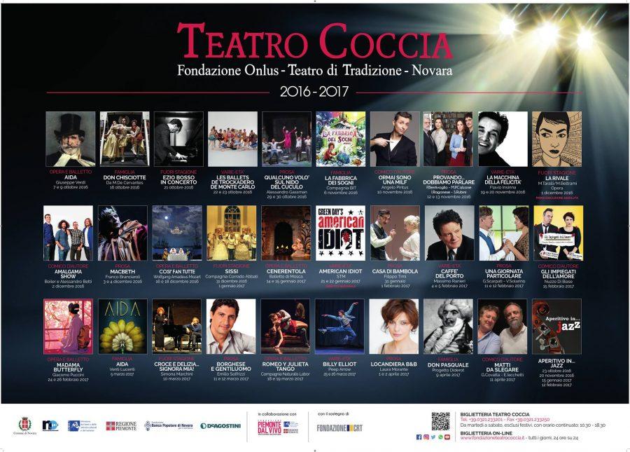 Stagione Teatro Coccia di Novara 2016 - 2017_gli spettacoli