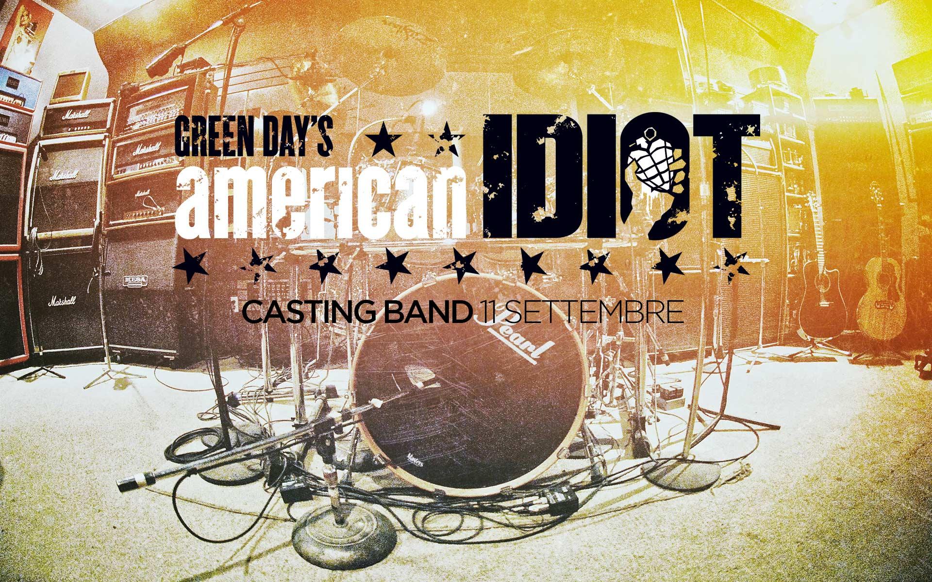 American Idiot Casting Band