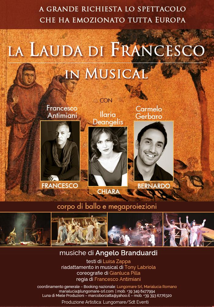 La Lauda di Francesco musical. Angelo Branduardi,