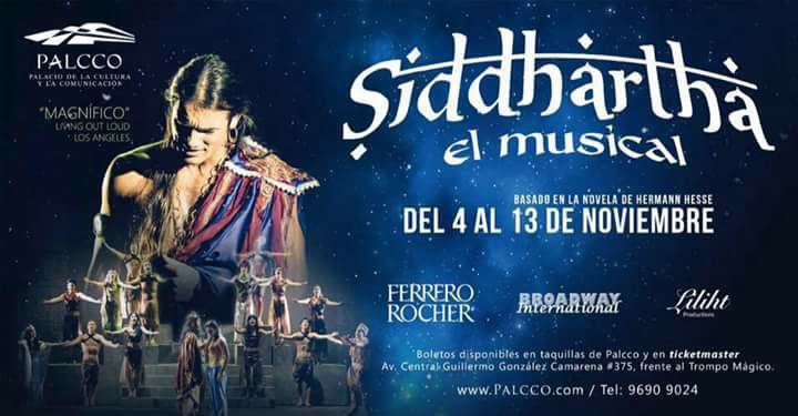 Siddhartha The Musical riprende il tour mondiale. Ora in Messico a Milano nel 2017