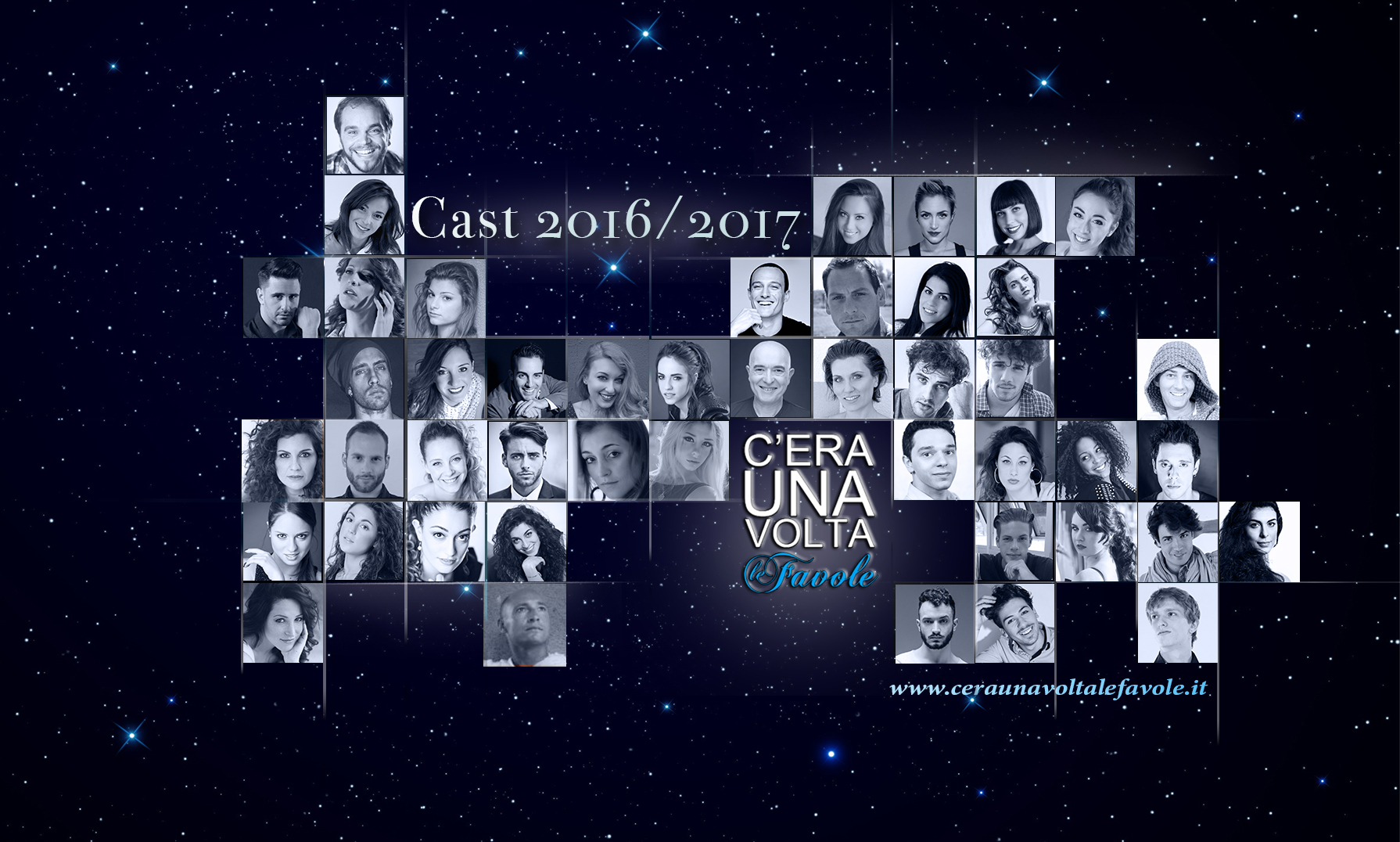 C' era una volta... le Favole 2016 - 2017 il cast