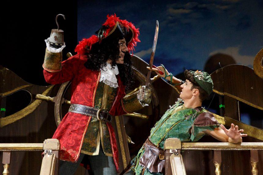 Peter Pan il musical a Milano. tour 2016 - 2017 - Giorgio Camandona