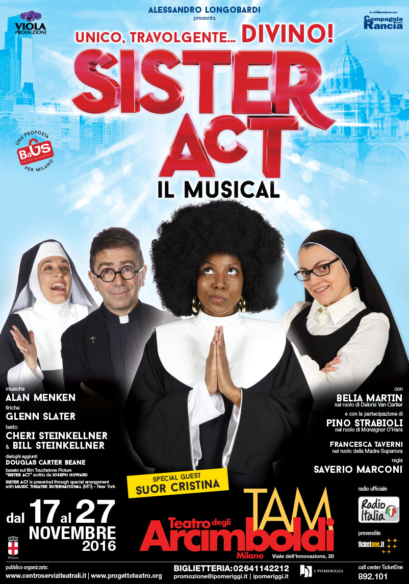 Sister ACT Milano - Arcimboldi - locandina