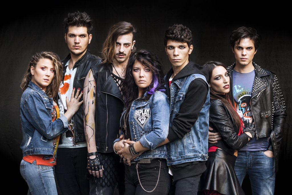 Green Day's American Idiot musical cast. Debutto a Novara. Poi Milano