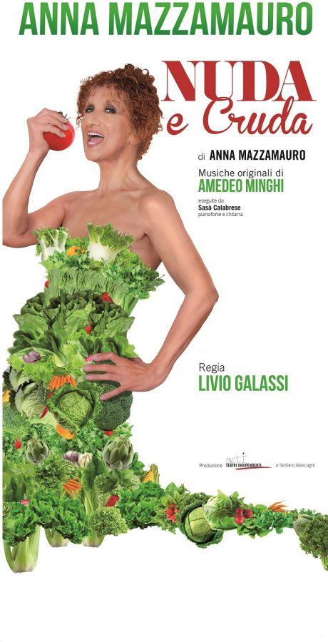 Nuda e Cruda - Anna Mazzamauro al Teatro Delfino di Milano. Le altre date