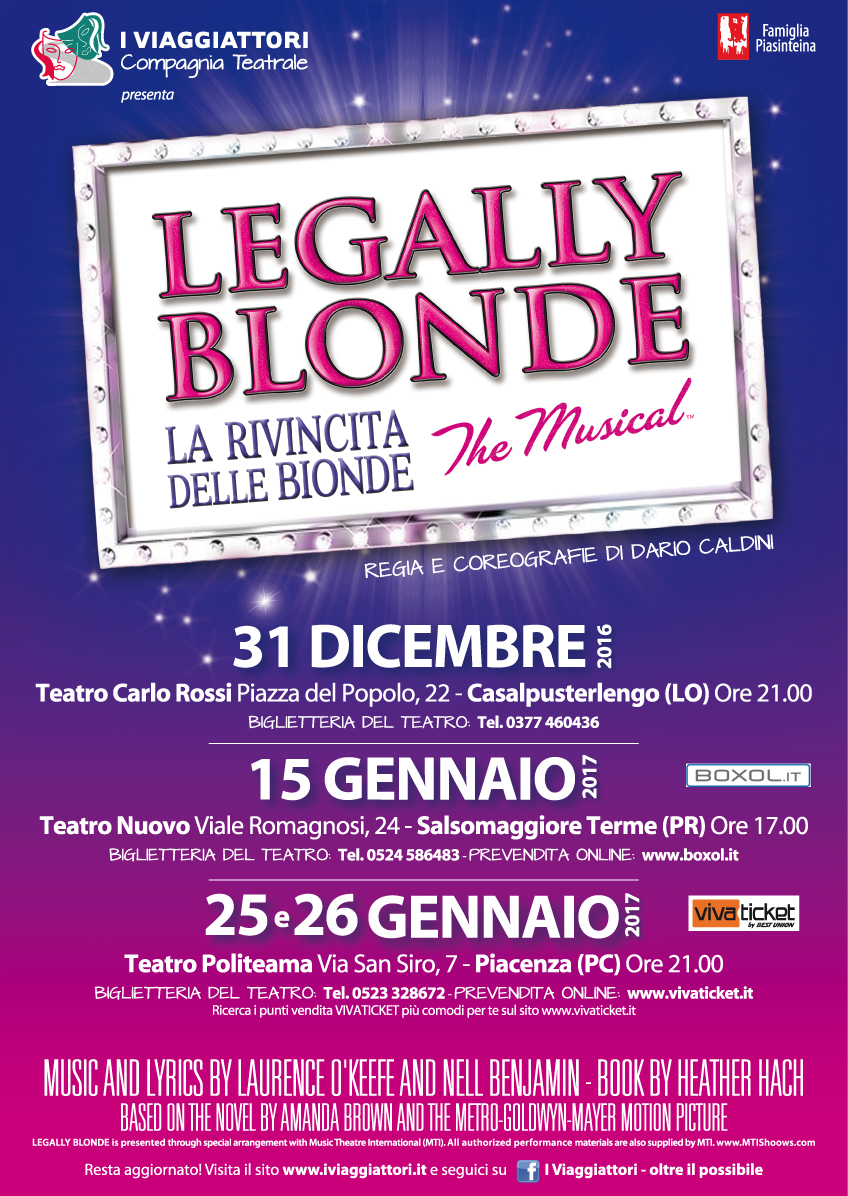 Locandina Legally Blonde