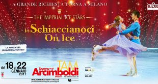 The Imperial Ice Stars porta Lo Schiaccianoci On Ice a Milano