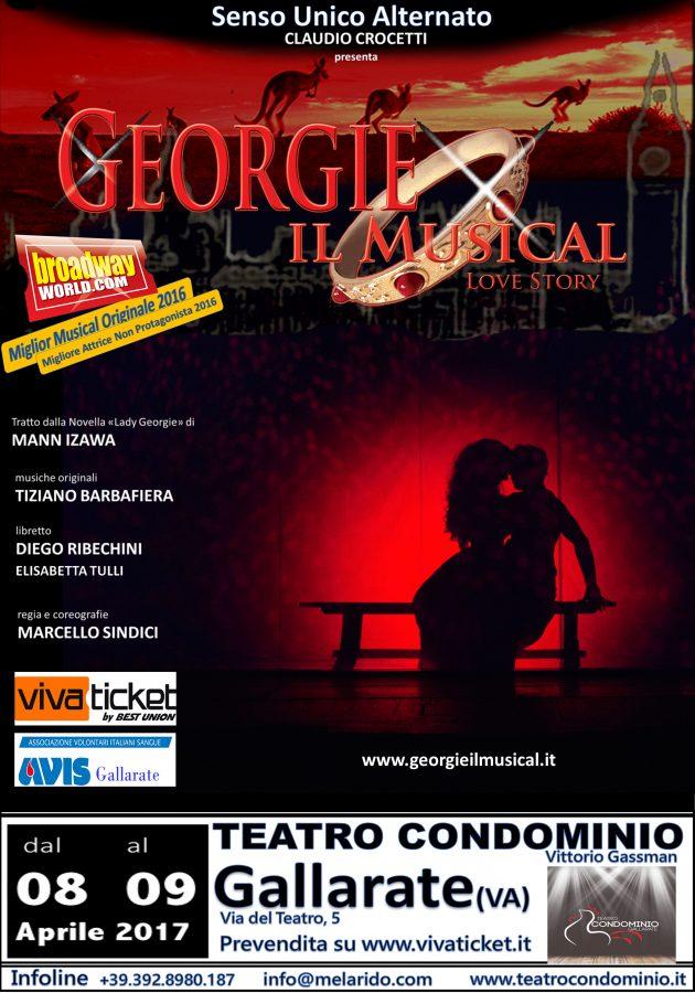 Georgie il musical 2017 8 e il 9 aprile a Gallarate