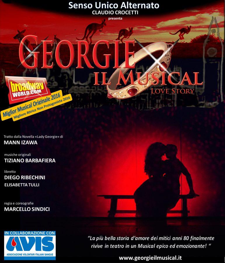 Locandina Georgie il musical 2017