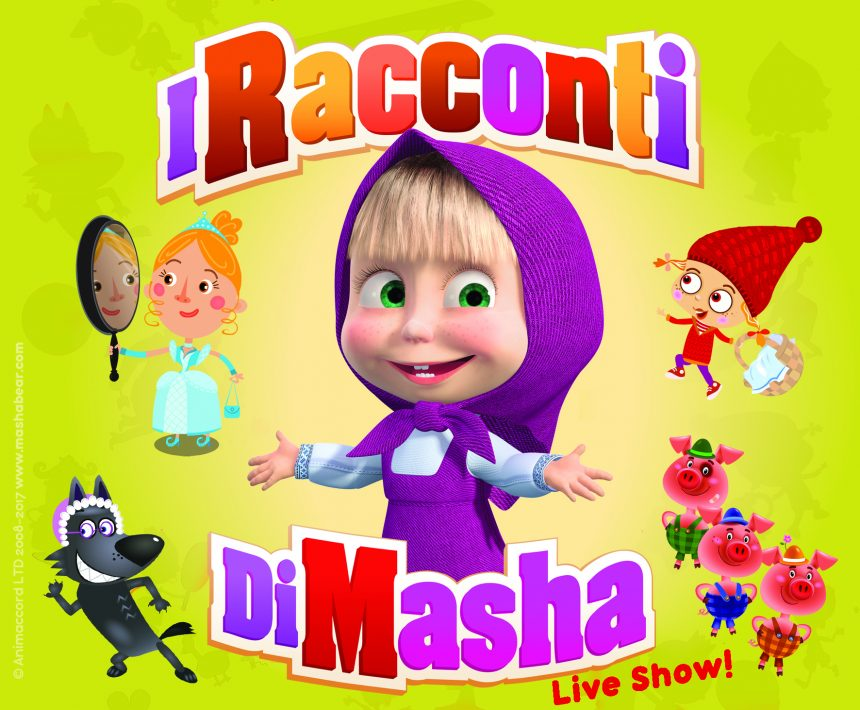 I Racconti di Masha Official Live Show Casting. Si cercano Ballerini, Performers, Masha