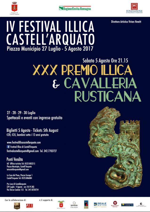 Festival Luigi Illica 2017 - Castell'Arquato