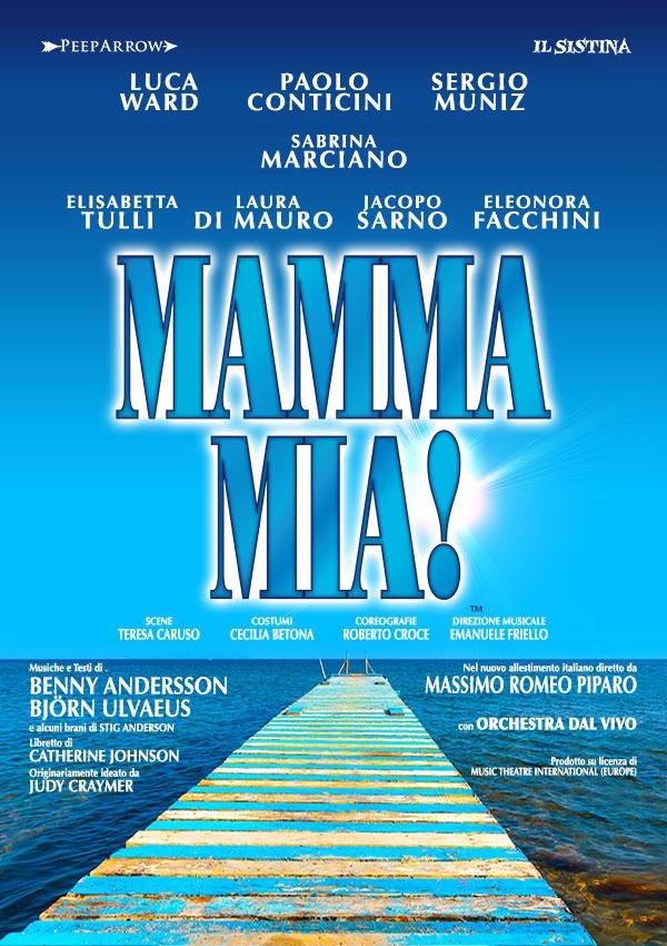 Mamma Mia il Musical: cast e date tour estivo e tour invernale 2017 2018